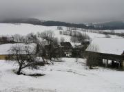 Sušená akce na sněhu