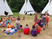 Africký tábor u Přibyslavi