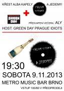 A JEDEM!!! Spálený sušenky + GREEN DAY Prague Idiots