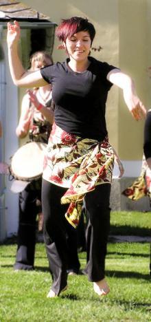 Mariana Holdsworth - tanečnice